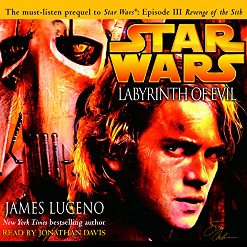 Star Wars: Labyrinth of Evil audiobook cover art