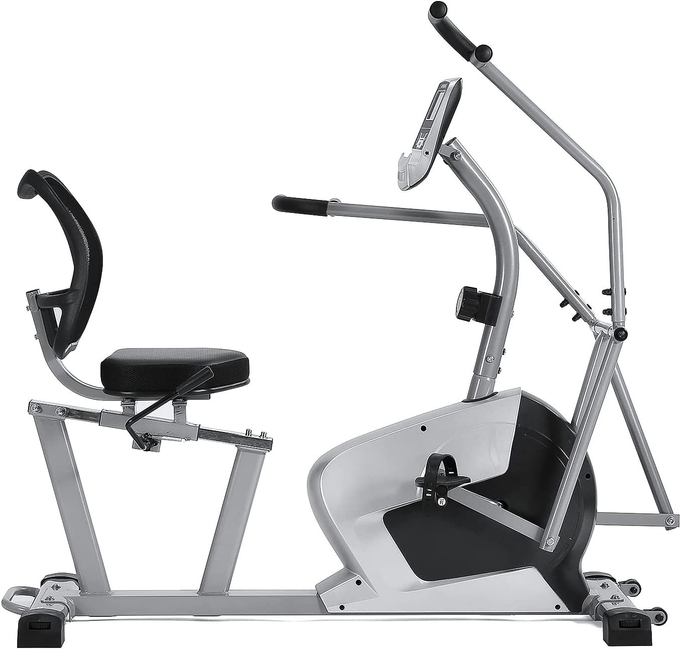 Recumbent Max 59% OFF Exercise Bike with Arm Ca Exerciser High Weight Ranking TOP10 350lb