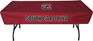 Rivalry Sports College Team Logo South Carolina 6 Foot Table Cover