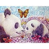 5D Diamond Painting Diy Kit Bordado Pintura Punto De Cruz Set Mosaico Lienzo Artista Inicio Decoración De La Pared Diamante Dibujado A Mano 60 * 80Cm(15.75 * 31.50') Panda