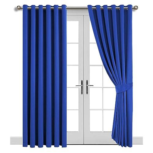 Terrific Blue Curtains For Living Room Amazon Co Uk Beutiful Home Inspiration Xortanetmahrainfo