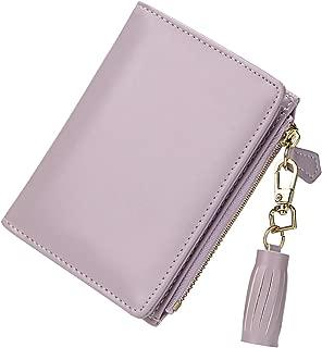 Small Wallets for Women Bifold Slim Coin Purse Zipper ID Card Holder