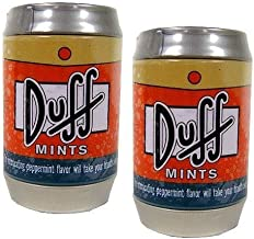 The Simpsons Mini Duff Beer Can Mints Two-Pack by Unknown
