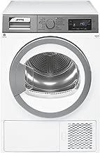 Smeg DHT83LIT-1 Libera installazione Caricamento frontale 8kg A+++ Argento, Bianco