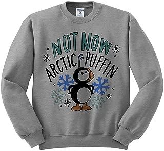 Elf Not Now Arctic Puffin Sweatshirt Unisex