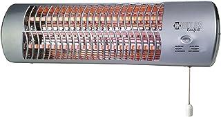 Kekai KT0505 - Calefactor Eléctrico de Pared (2 Barras) 600/1200 W 53x13x16 cm