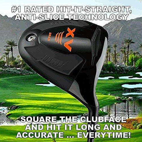 #1 Magic Distacne Offset Slice Killer Draw Anti-Slice Long Custom Golf Driver - Maximum Offset - Find The Fairway Everytime!
