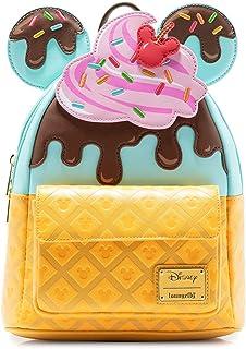 Loungefly Backpacks Disney Mickey and Minnie Sweets Ice Cream Mini Backpack
