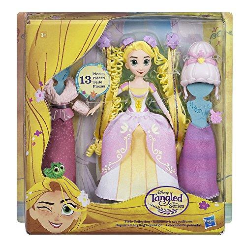 Enreados – Bambola Rapunzel Pack collezione di pettini Disney (Hasbro C1751EU4), colore/modello assortito