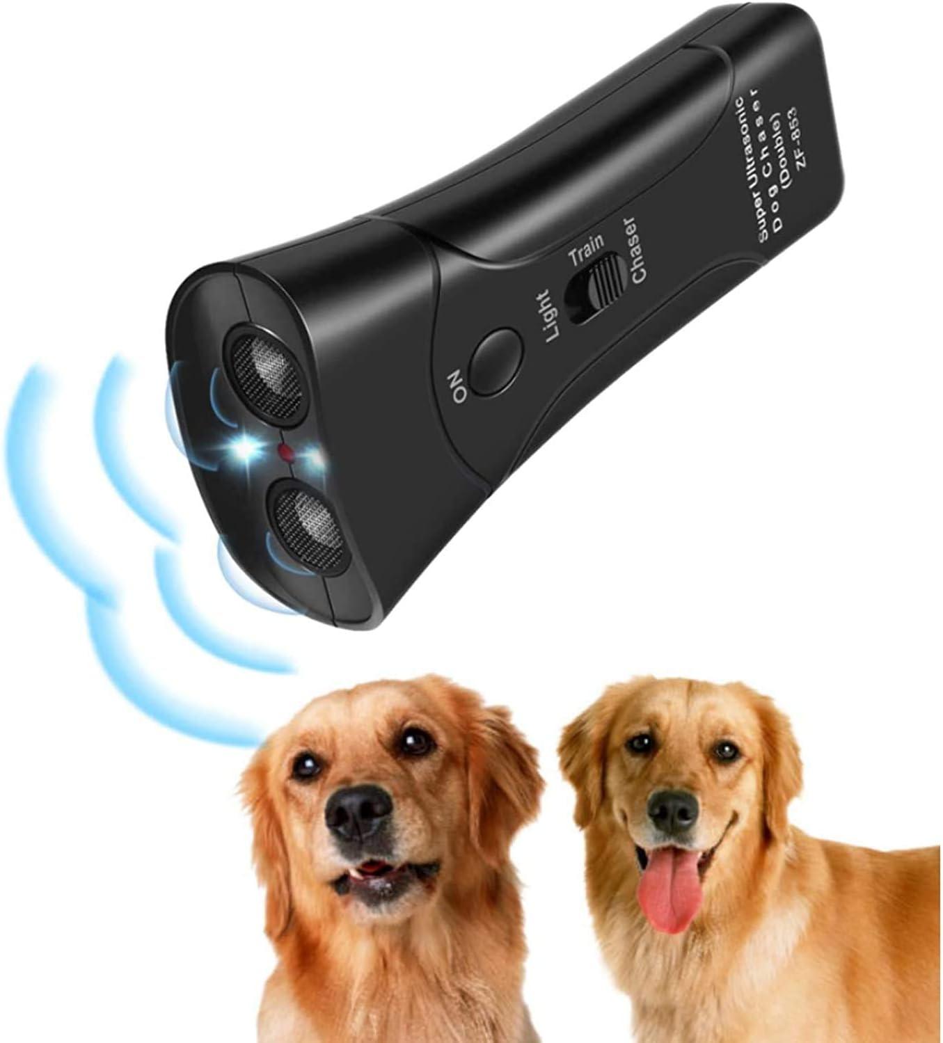 YANCEN Cheap SALE Start Anti Barking Device Ultrasonic 3 Max 84% OFF Deterrent Dog