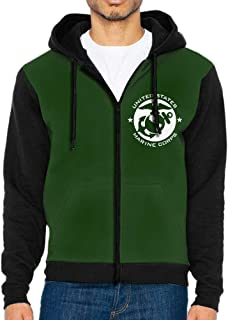 usmc full zip hoodie