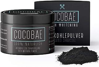 COCOBAE® Teeth Whitening – Aktivkohle Pulver Aus Kokosnuss Kohle Für Weiße..