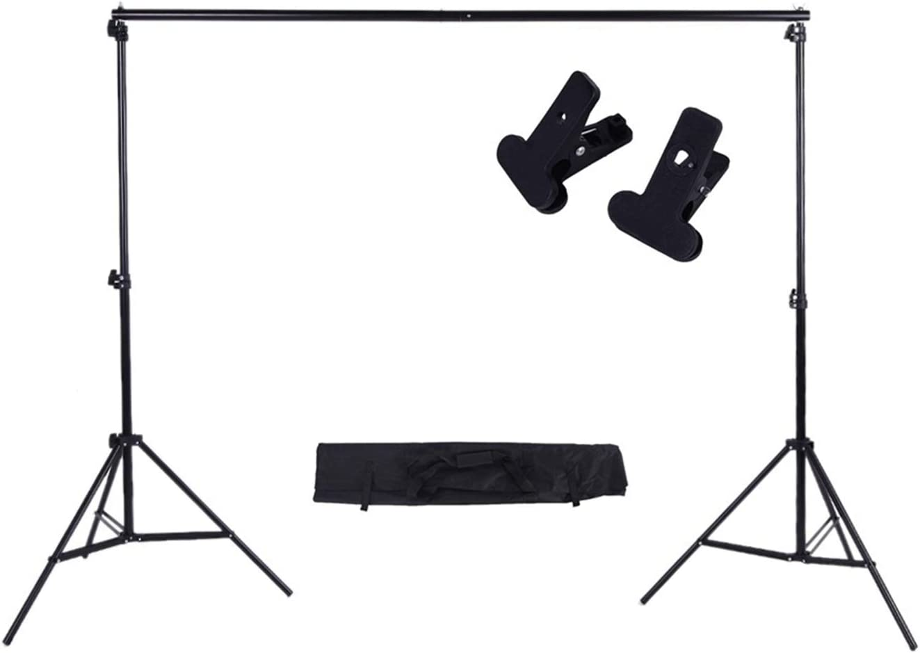 Photography 23m 6.69.8ft Max 89% OFF Photo Adjustable Background Ranking TOP2 Studio Kit