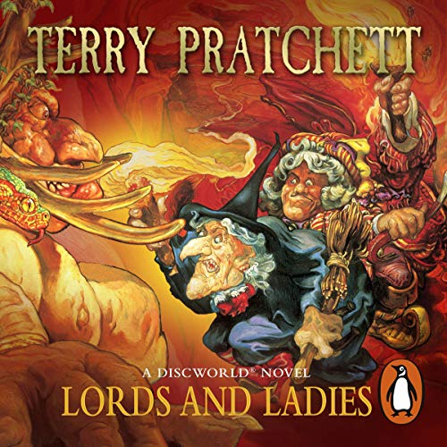 Lords and Ladies audiobook cover art