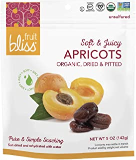 Unsulfured Turkish Apricots - Organic Apricots Dried Fruit Snacks - Healthy Snacks for On the Go & Post Workout Snacks - N...