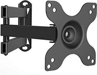WALI Articulating TV LCD Monitor Wall Mount Full Motion 14 inch Extension Arm for Most 13..