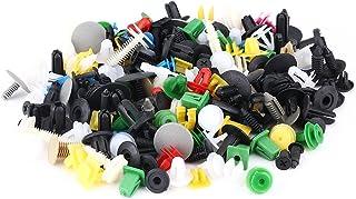 KIMISS 500 Stücke Auto Befestigung Clips Universal Clips und Klammern, Auto Clips Set Türverkleidung Klammern Stoßstangen Zierleisten Retainer Rivet Push Pin Kit