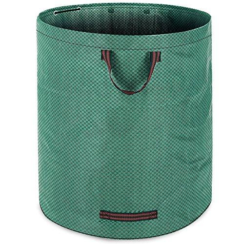 Gartenabfallsack Laubsack 280 Liter zusammenfaltbar Gartensack Gartentasche Rasensack