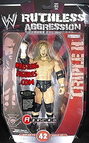 WWE Wrestling Ruthless Aggression Series 42 Action Figure Triple H by Jakks