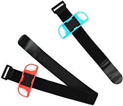A Wide Range of People Leg Strap for Switch, Dance Game Wrist Band, Adjustable for Switch Ring