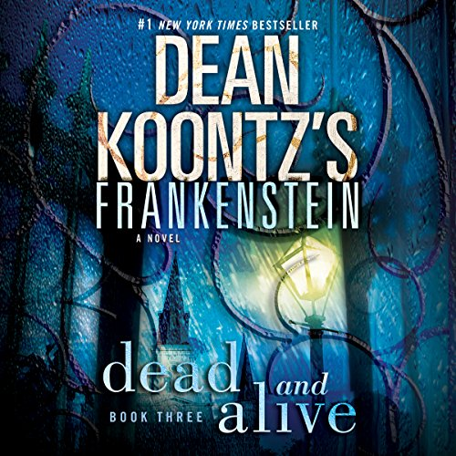 Frankenstein: Dead and Alive audiobook cover art