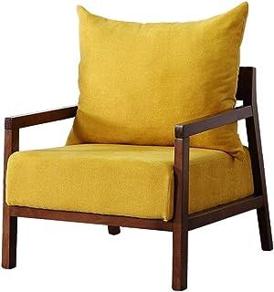 Sillas de la cocina del hogar de la sala de sillas Nordic Silla perezosa del sofá-cama individuales dormitorio pequeño mini moderno minimalista Apartamento pequeño balcón silla de salón for adultos