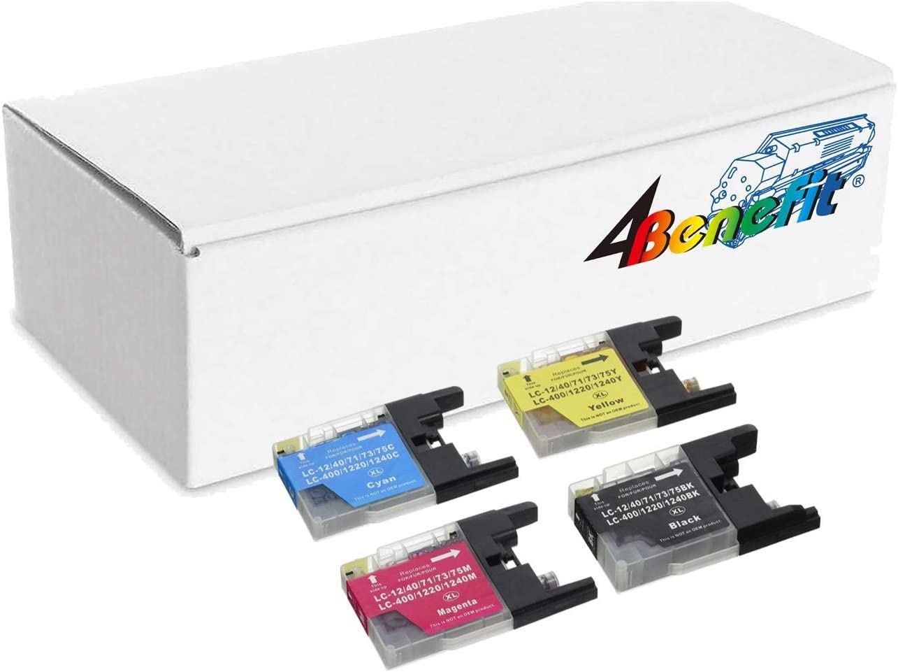600 Page Yield SuppliesMAX Compatible Replacement for CIG117423 Black Inkjet Equivalent to Brother LC-75BK