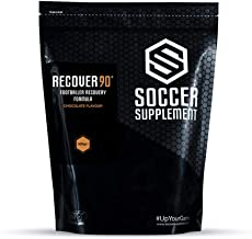SOCCER SUPPLEMENT RECOVER90 – Footballer Match Recovery Formula – Whey Protein Isolate Chocolate Estimated Price : £ 15,32
