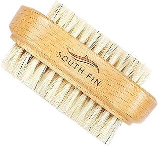 Baosity Beechwood Toe Finger Nail Brush Scrub Fingernail Cleaning Wooden Nailbrush