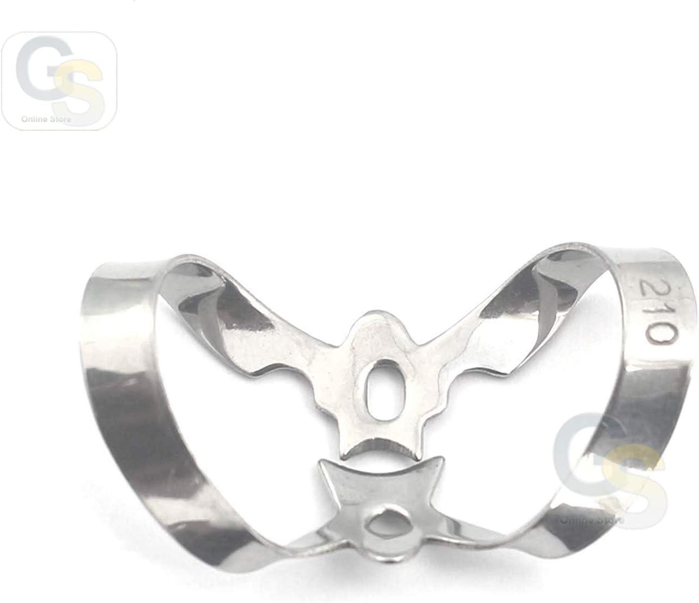 G.S Dental Spring new 5 ☆ popular work Instrument Endodontic Clamp Quality Best 210 Adult