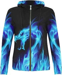 Custom Women's Zipper Hoodies Sweatshirt with Design