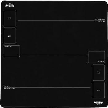 EXCITE HOBBY プレイマット シンプルデザイン カードゲーム 滑りにくい ラバーマット めくりやすい マジック:ザ・ギャザリング(MTG)カード バトルフィールド 60cm×60cm