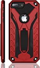 iPhone 8 Plus Case | Military Grade | 12ft. Drop Tested Protective Case | Kickstand | Wireless Charging | Compatible with Apple iPhone 8 Plus - Red