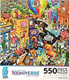 STEVE SKELTON'S TOONIVERSE WORLD IN A HURRY 550 Piece Puzzle MADE IN USA PUZZLE