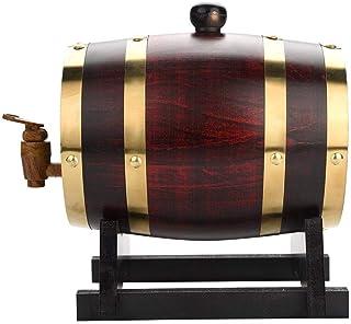 Tonneaux de vin en Bois, tonneau de Whisky, tonneau de vin en Bois Tonneau de vin Armoire à vin Bar de Stockage de vin Bar...