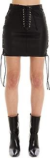 UNRAVEL PROJECT Luxury Fashion Womens UWJC003R20LEA0021000 Black Skirt |