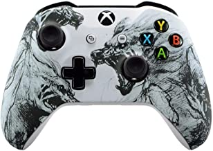UN-Modded Custom Controller Compatible with Xbox One S/X. (3.5 mm Jack) (Wolf)