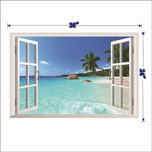 Window Scene Amazon Com
