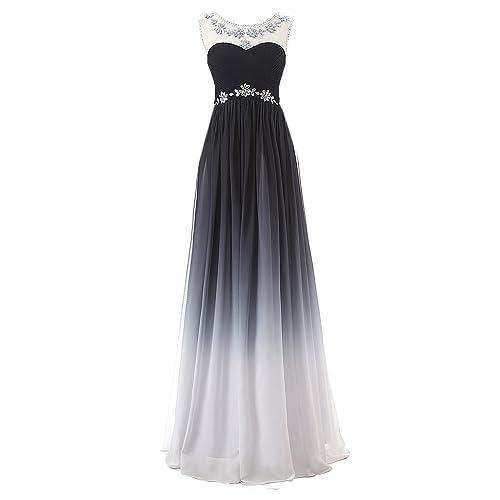a3c753bbc723 Clearbridal Women's Formal Chiffon Prom Dress Bandage Maxi Dress Bridesmaid  Gown CSD231