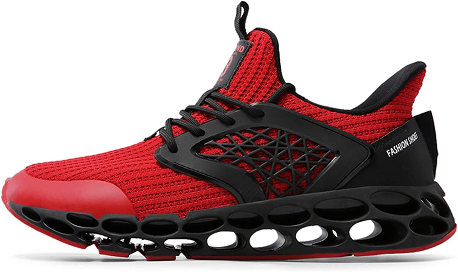 HDWY Men's Fashion Sports Hundred-Lap Running shoes Outdoor Leisure Non-Slip Fitness Running shoes
