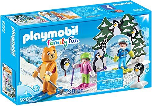 PLAYMOBIL Ski Lesson Building Set