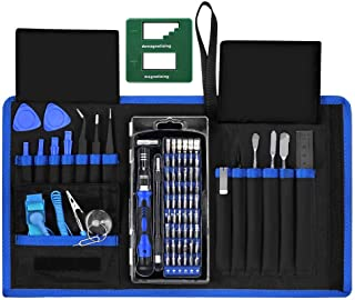 IPARTS EXPERT 76 in 1 Precision Screwdriver Kit, Professional Repair Tool with 2-in-1 Magnetizer for iPhone, iPad, MacBook, Phone, Watch, Laptop
