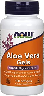 NOW Foods NOW Foods Aloe Vera 10,000mg S/Gels 100's