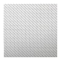 SUS304ステンレスメッシュ 目開き:0.072mm メッシュ:250 線径:0.03mm サイズ:1000mm×1m ステンレス金網