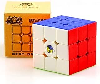 CuberSpeed Yuxin Little Magic 3x3 stickerless Speed Cube Yuxin 3x3x3 Magic Cube Puzzle