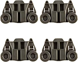 4 Packs W10195417 UPGRADED Dishwasher Wheels Lower Rack For kenmore whirlpool kitchen..