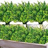 HATOKU 24 Pack Artificial Greenery...