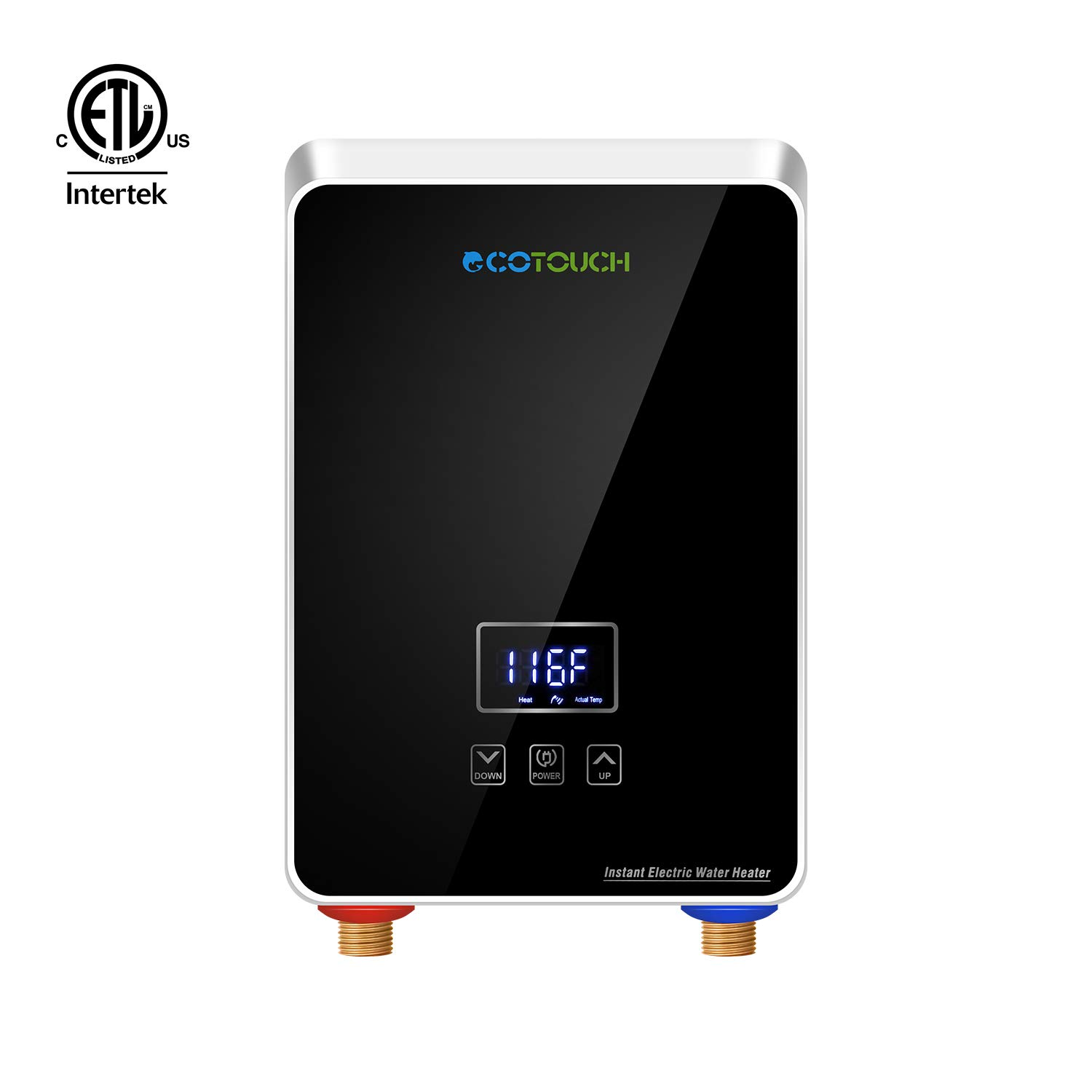 ECOTOUCH Tankless Electric Digital Efficient