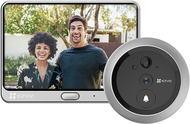 Spioncino video senza fili monitor 4.3