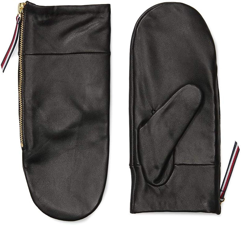 Tommy Hilfiger womens Adaptive Leather Mitten